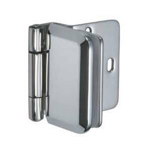 Stainless Steel Overlay Glass Door Hinge