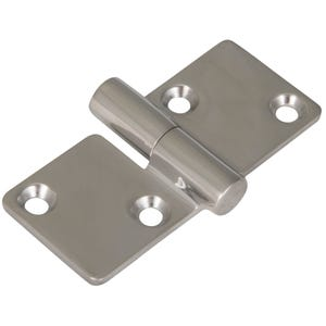 "Stainless Steel Butt Hinge 3.39"" x 1.46"""