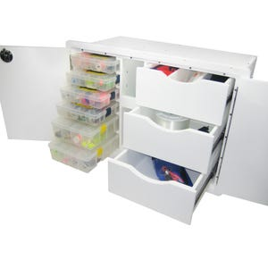 Tackle Storage Center - 3 Drawer, 6 Tray