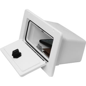 Glove Box with Bin