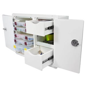 Tackle Storage Unit 2 Drawer, 5 Tray