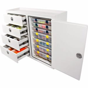 7 Tray, 4 Drawer Tackle Station