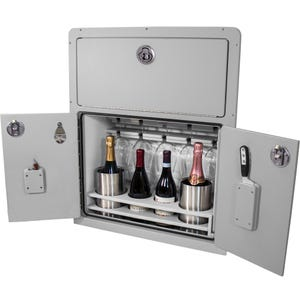 Manitou Pontoon Wine Cabinet