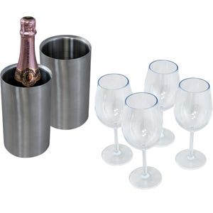 Table Topper Accessory Kit - 4 Glass/2 Chiller