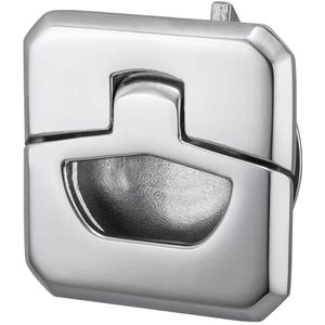 Square Stainless Steel Mini Slam Latch