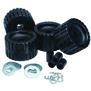Black Ribbed Roller Kit