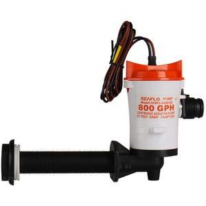 800 GPH Baitwell/Livewell Pump-Angled