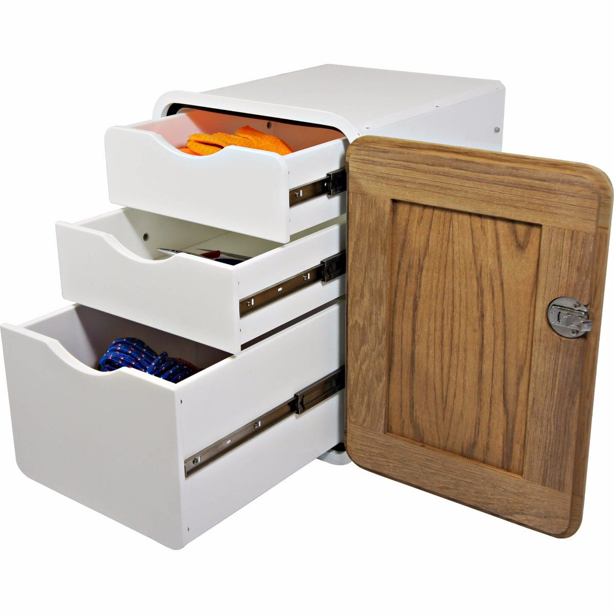 elite unit drawer right pedestal storage zoom under handed mobile desk sided single personal