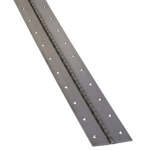 """3"""" Wide Stainless Steel Piano Hinge"""