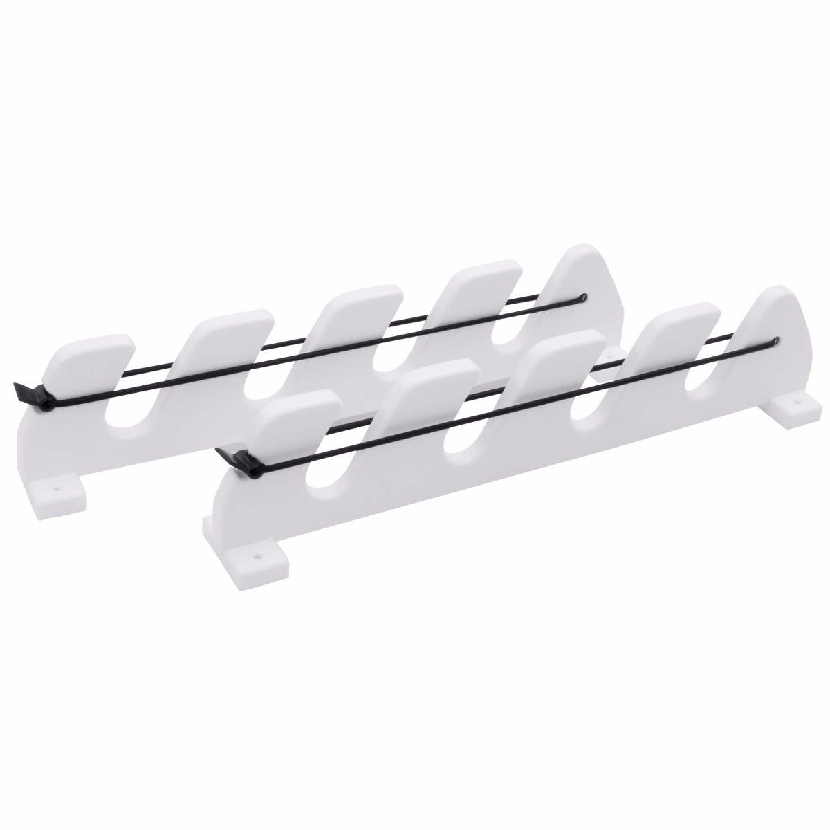 Boat rod rack system cosmecol for Fishing pole holders for boats