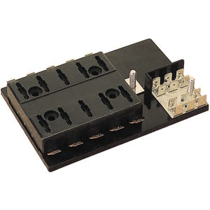 10 Gang ATO/ATC Fuse Block with Ground Block
