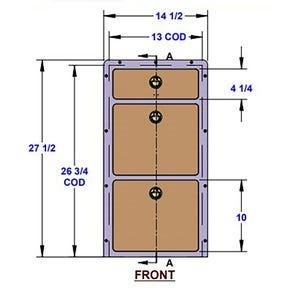 Three Drawer Unit Bedroom Unit