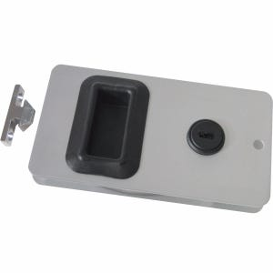 "Aluminum Cabin Door Latch 5.25"" x 2.875"""