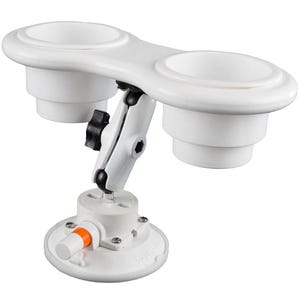 Angled 2 Cup Holder with SeaSucker Vacuum Mount