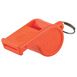 Orange Ball-Type Marine Whistle