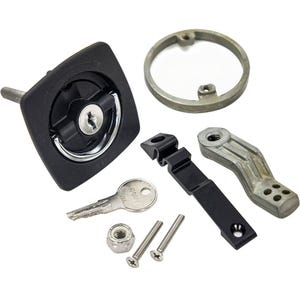 Black Cam Latch- Locking