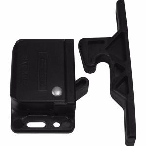 Black Door Grabber Latch