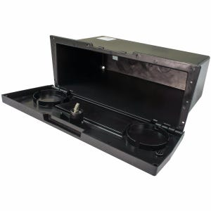Black Plastic Glove Box