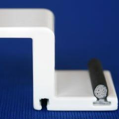Black T-Slot Foam Filled Bulb Seal