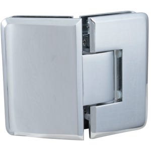 Chrome Glass Door Hinge 135 Degrees
