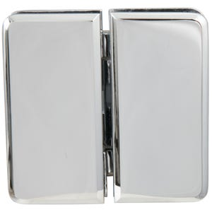 Chrome Glass Door Hinge 180 Degrees