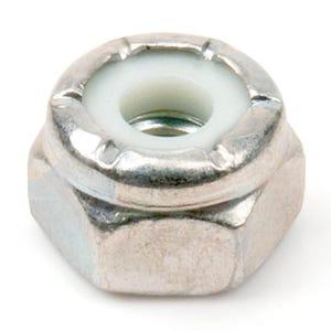 Chrome Plated Stainless Nylon Insert Lock Nut
