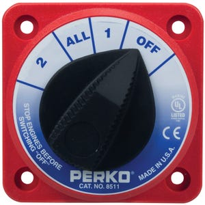 Compact Battery Selector Switch