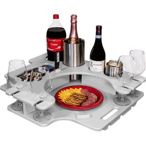 Crest Pontoon Serving Tray - Tray Only