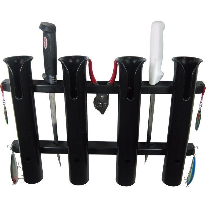 White Boat Plastic Rod Holder 1 Tube Fishing Plastic Rod Holder Rack Wonderful