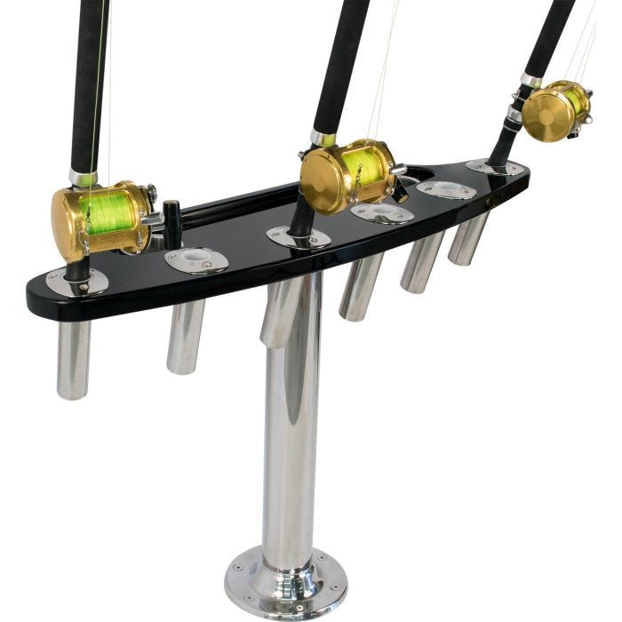 6 Rod Rocket Launcher-flush mount ***Custom to fit your boat**