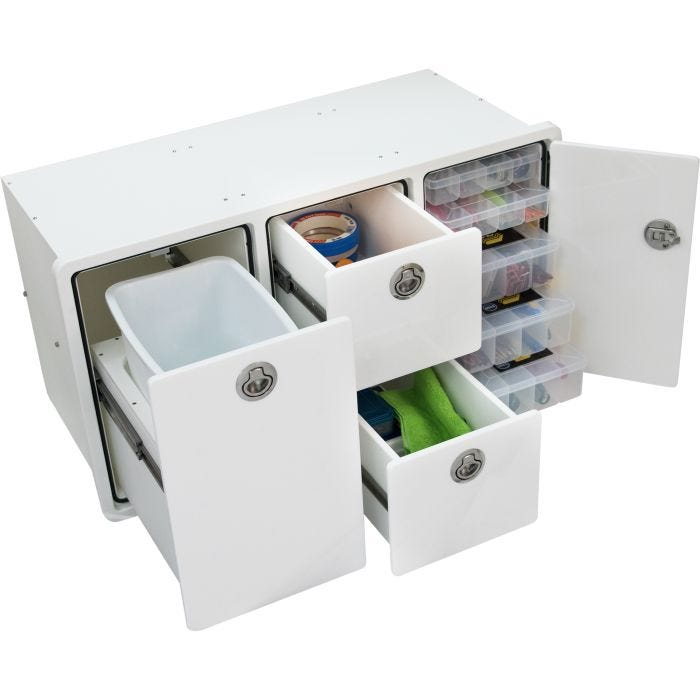 Tackle Storage Unit 2 Drawer 5 Tray