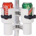 RoboCup Clamp On Portable Cup Holder