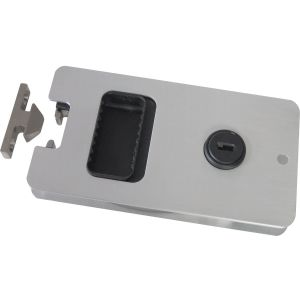 "Aluminum Cabin Door Latch 5.25"" x 2.875"" Modified Style C"