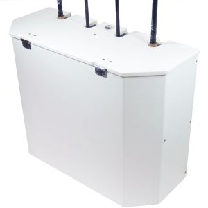 Pontoon Rod Storage Box with Plano Trays
