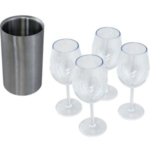 Table Topper Accessory Kit - 4 Glass/1 Chiller