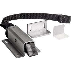 Aluminum Spring Loaded Slam Latch with Strap