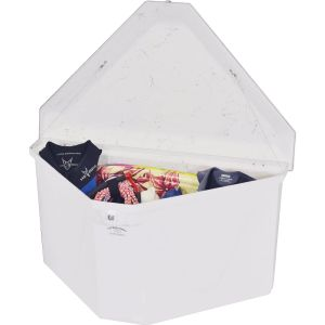 Fiberglass Triangular Dock Box