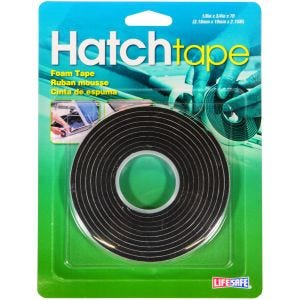 "Hatch Foam Tape 0.75"" x 7ft - Black"