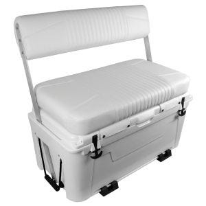 Ice Cage Swingback Cooler Seat with Mounting Clamps