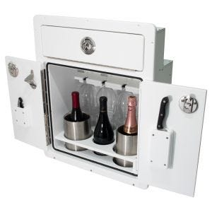 JC Pontoon Wine Cabinet