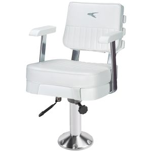 """Ladder Back Helm Chair with 15"""" Fixed Pedestal and Seat Slide"""