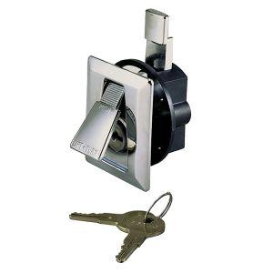 Locking Lift to Turn Latch
