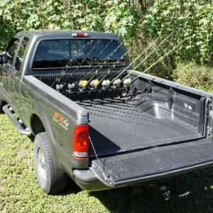 Pick Up Truck Rod Holder - F250 and F350