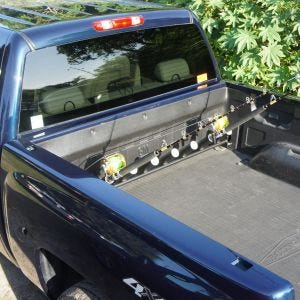 Pick Up Truck Rod Holder - GMC and Chevy