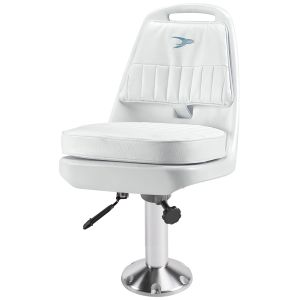 """Pilot Chair with 15"""" Fixed Pedestal and Seat Slide"""