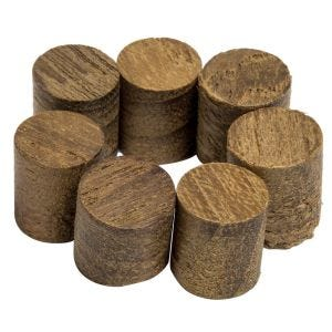 "SeaForce Teak .375"" Plugs"