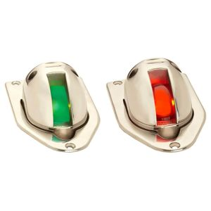 Set of Stainless Steel Pop-Up Side Lights