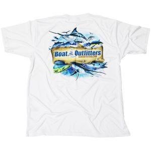 White Dri-Fit Short Sleeve Shirt