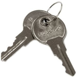Southco Replacement Keys for Southco Push Button Latch