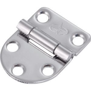 "Stainless Steel Butt Hinge 1.625"" x 1.125"""